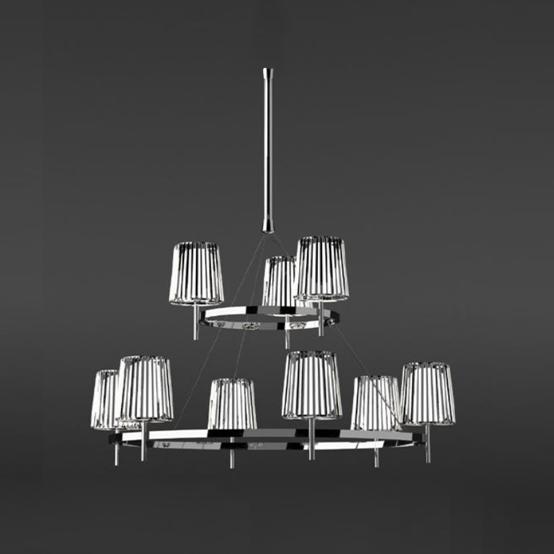 Julia by Quasar - classic ceiling lamp shade with modern elegance