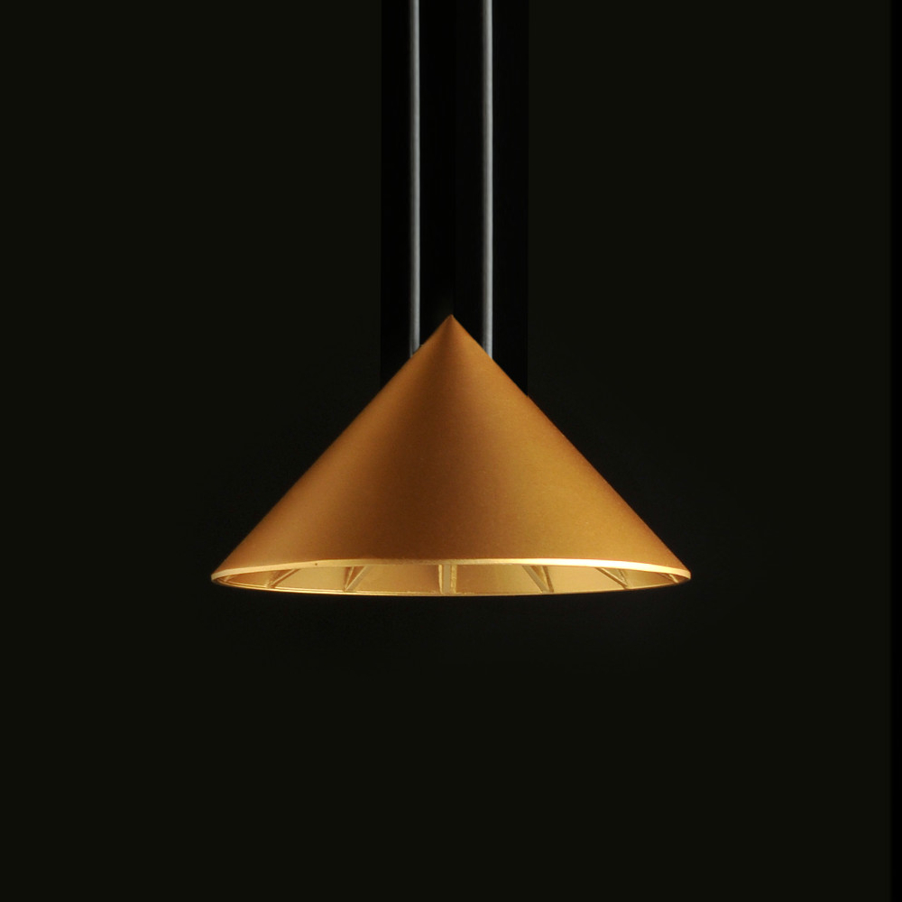 Kefren by Milan - Design ceiling triangular shade style lighting fixture