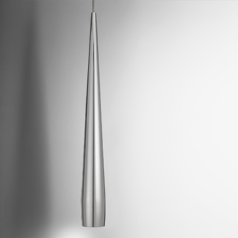 Line by Panzeri - Suspension lamp that creates a linear look with a metal design