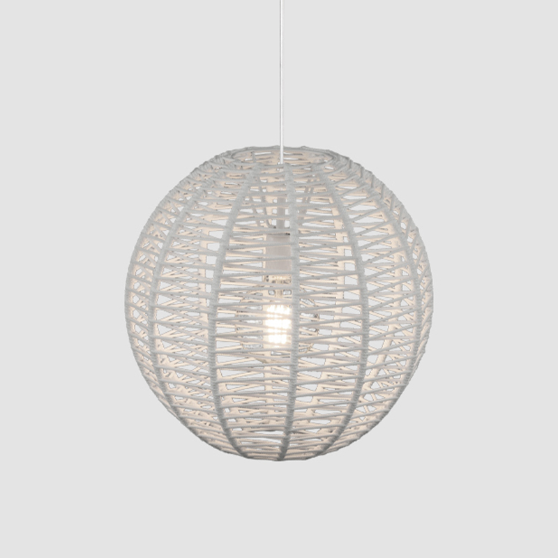 Lluna by Ole - Globe styled lampshade with a cord wrapped design