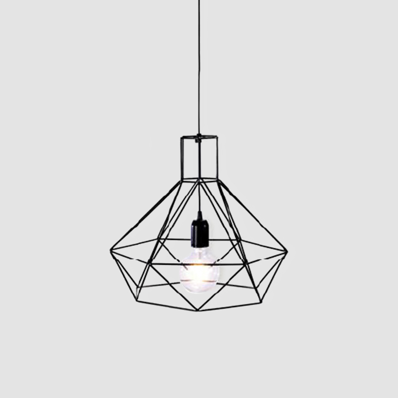 Matilde by Ole - Pendant ceiling light fixture made with metal rods in modern and vintage styles