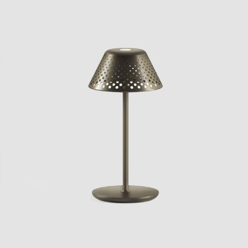 Mesh by Platek - Table lamp available with battery-powered and rechargeable via micro USB cable