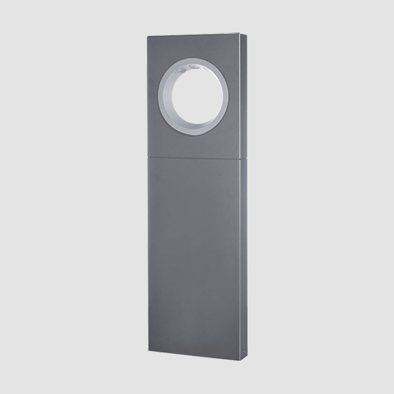 Moon by Platek - Bollard mount lighting series made of corrosion resistant aluminium alloy
