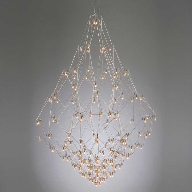 Nobilis by Quasar - Modern and design suspended chandelier lamp