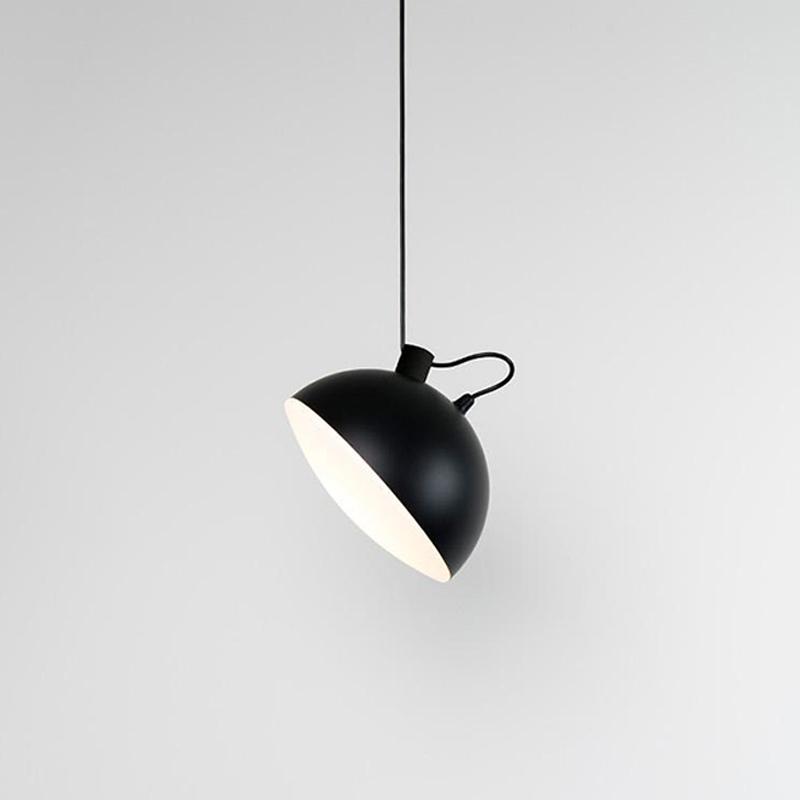Nod by Milan - Modern ceiling flattened globe-like fixture