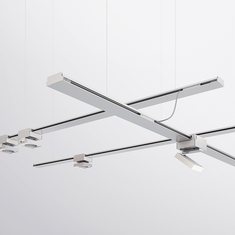 Nodo by Letroh -  Innovative customizable in length lifestyle track and light system