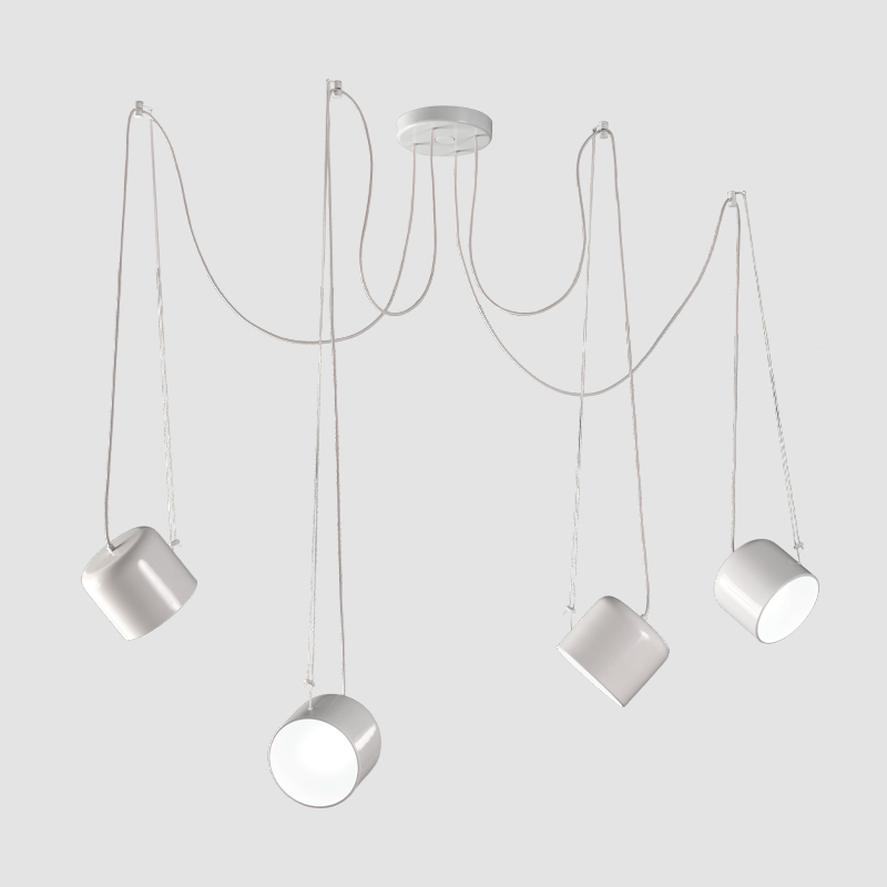 Paco by Ole - Pendant spotlight with direction adjustability of the lamphead