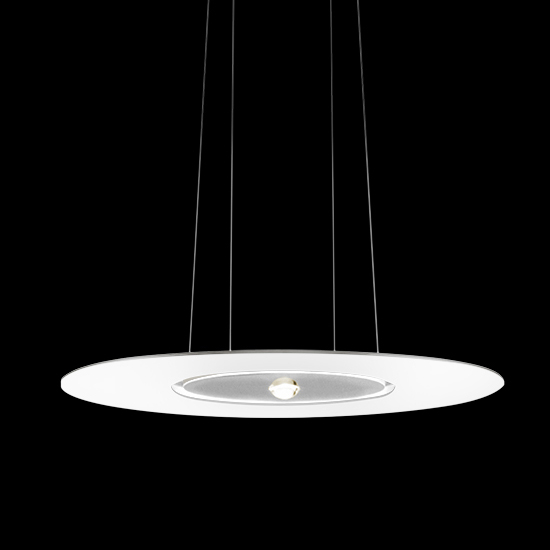 Passepartout by Cini&Nils - Hanging light designed with a sleek circle cut out