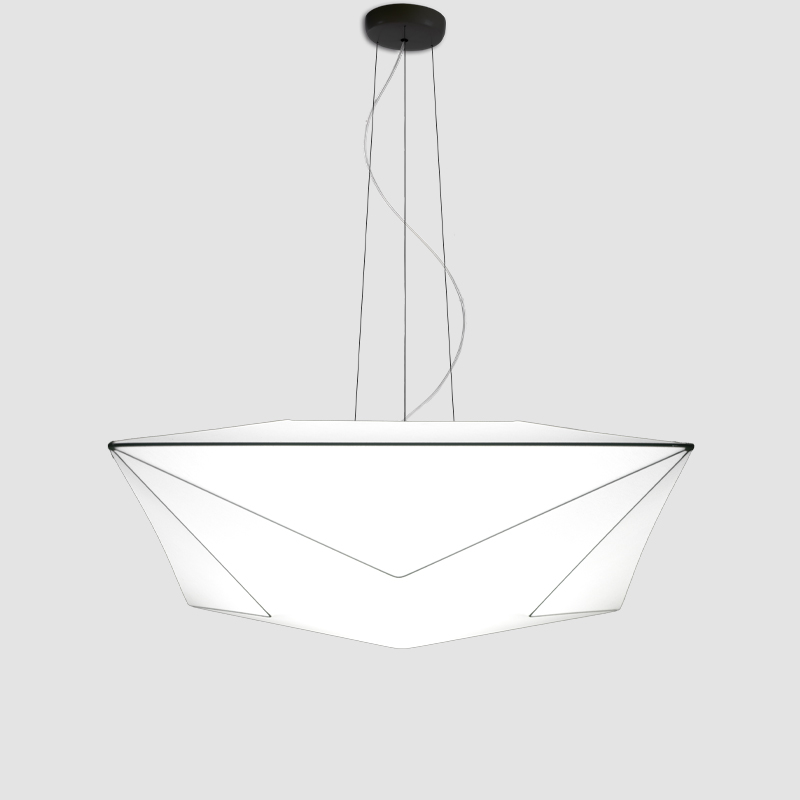 Polaris by Ole - Geometric lighting fixtures for ceiling and wall applications