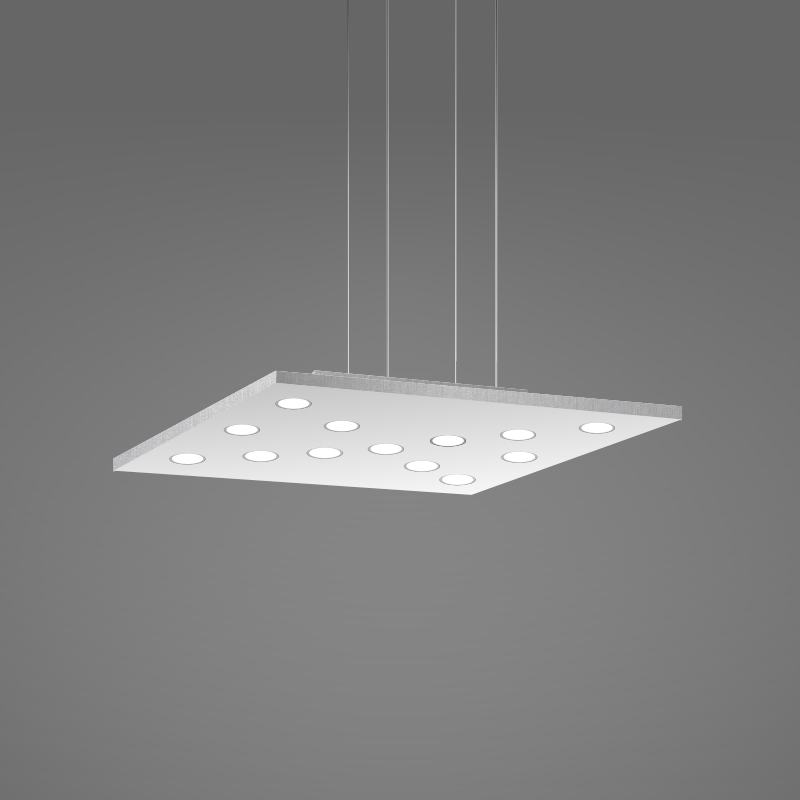 Pop by Icone - Suspended ceiling light composed with LED spots