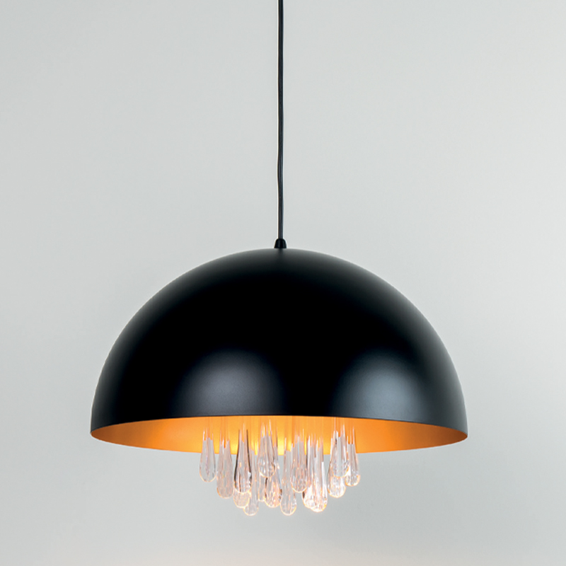 Raindrops by Milan - Retrofit LED pendant with chandelier-like features matching a Scandinavian derived design
