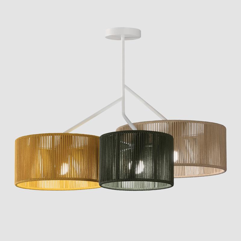 Senia by Ole - Beautiful classic drum shape lamp shade