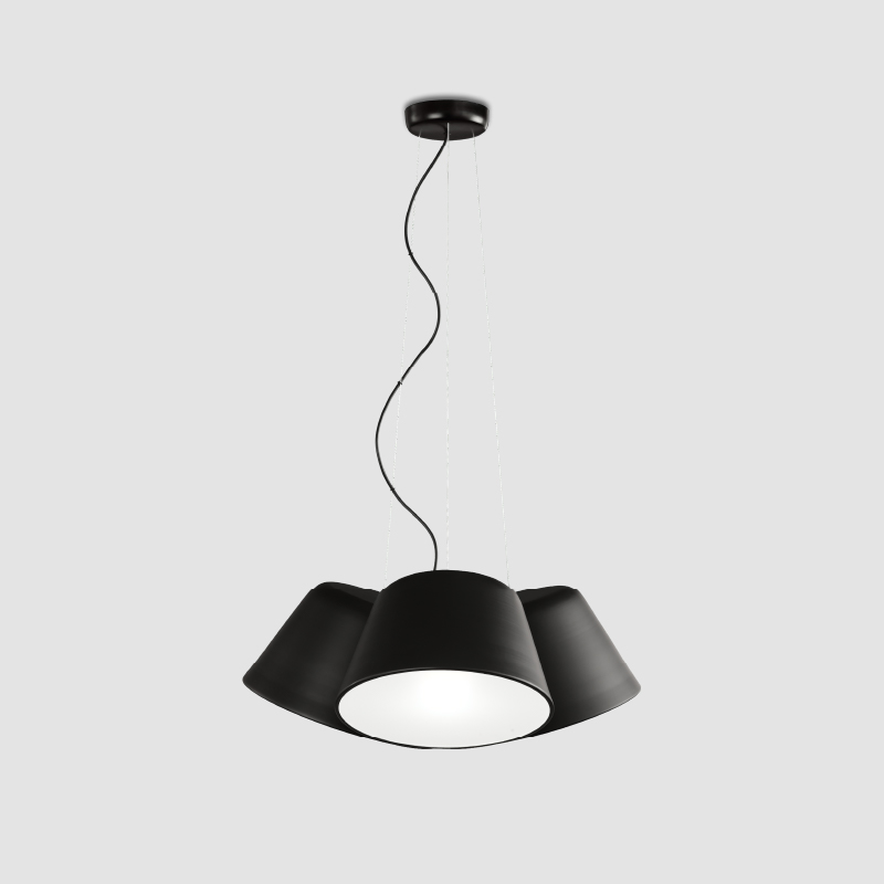 Sento by Ole - Flexible surface and suspended light fixture