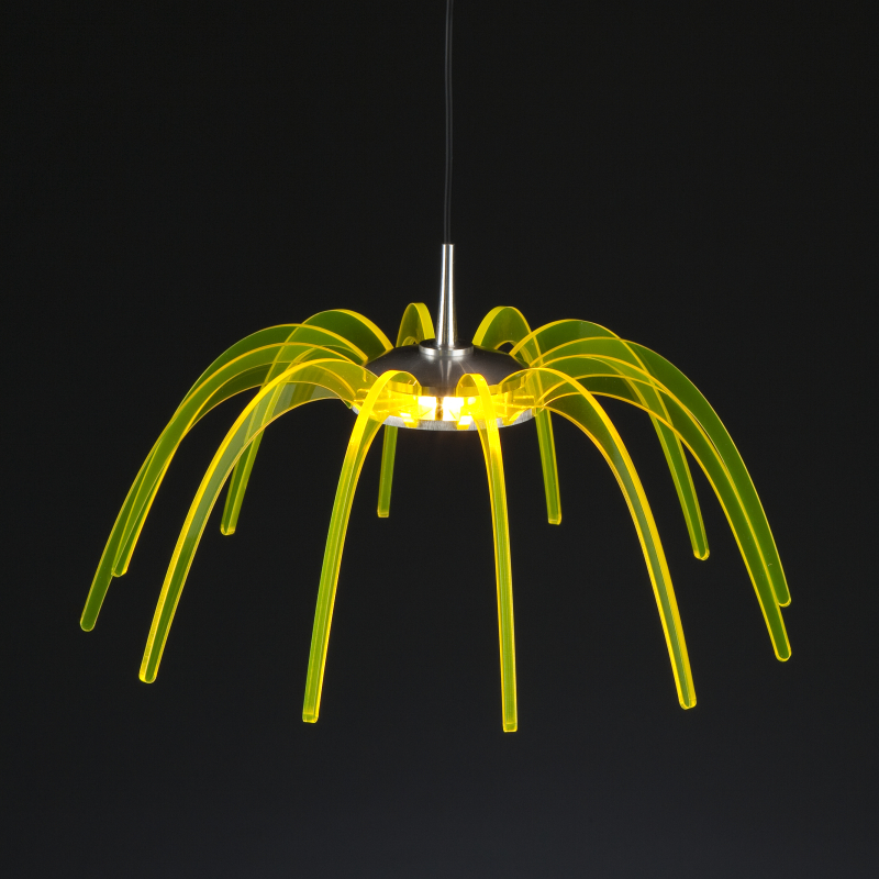 Spica by Quasar - Unique design suspension lights made from aluminum and acrylic
