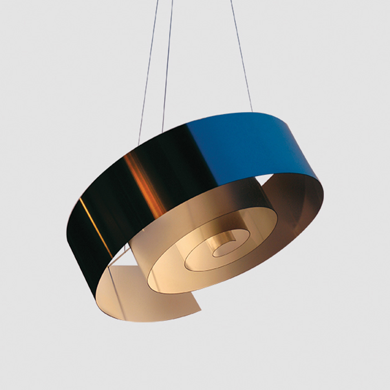 Spiral by Knikerboker - Design pendant lamp in the shape of a spiral