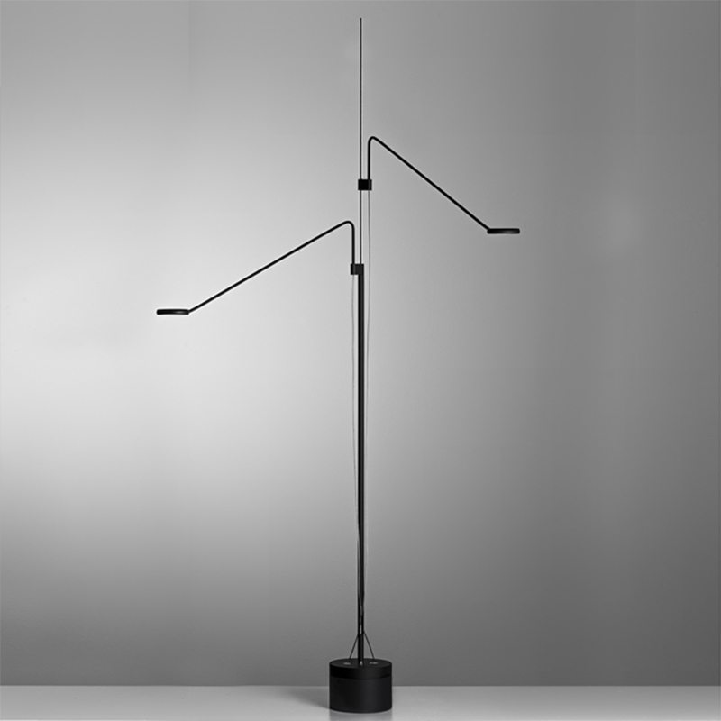 Tecla by Icone - Design table and floor lamp