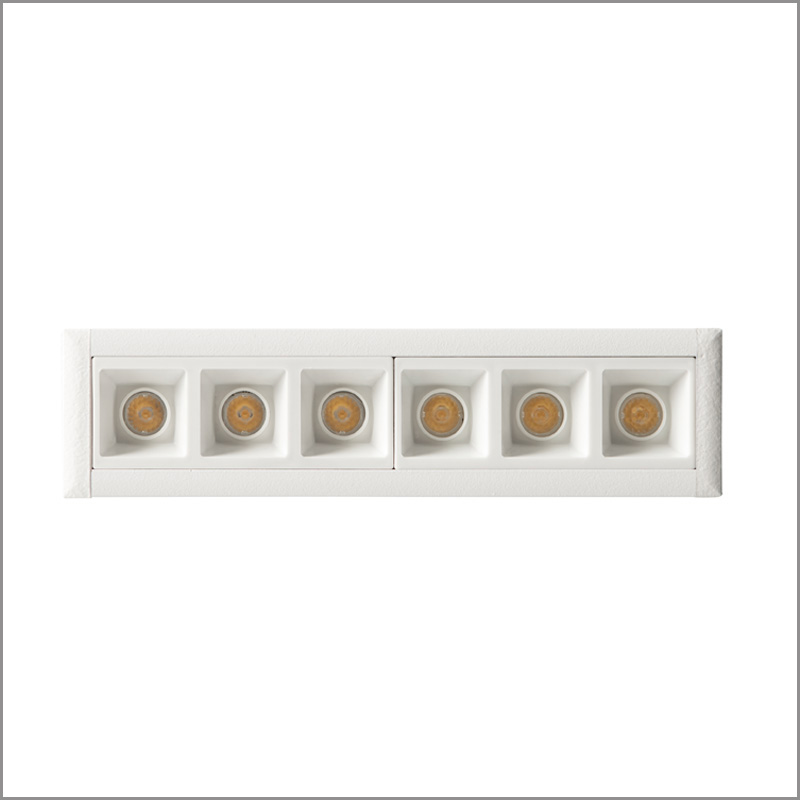 Trail by Side - Recessed ceiling LED lights