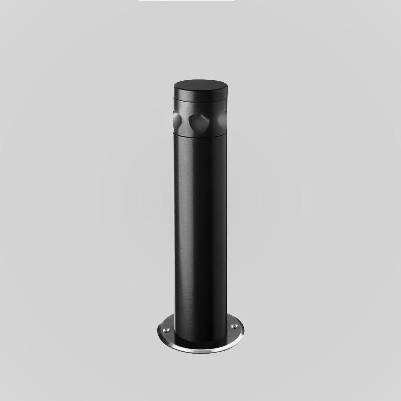 Trunk by Side - Exterior post lighting in bollard shape