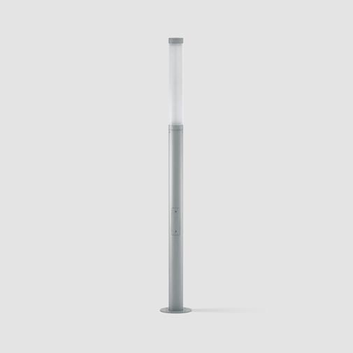 Tube by Platek - Modern exterior lighting made from die-cast aluminum alloy